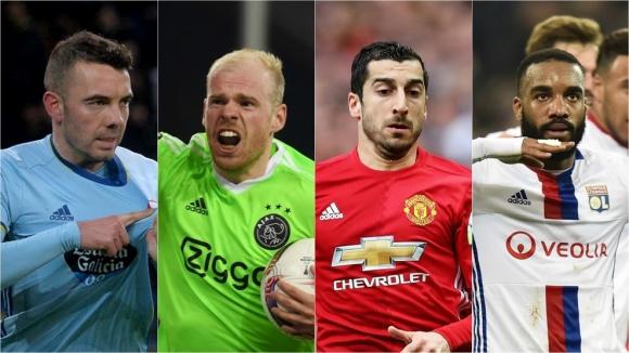 Кой срещу кого на полуфиналите в Лига Европа?
