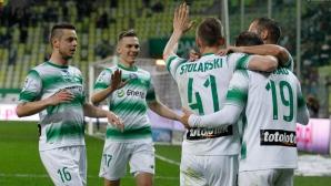 Славчев поигра при важна победа на Лехия