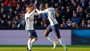 ПСЖ притиска Монако след страхотна драма с пет гола (видео)