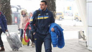 Деян Иванов раздава автографи преди мача с Дунав
