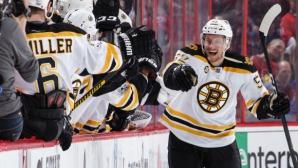 Бостън се добра до успех над Отава след продължение
