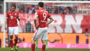 Байерн няма сили - 2:2 срещу Майнц дава нов шанс на Лайпциг (видео + галерия)