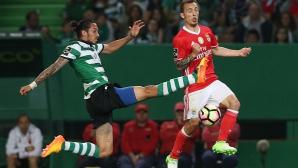Линделоф донесе равенство на Бенфика в дербито със Спортинг