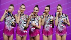 Златен завършек за ансамбъла на България в Ташкент