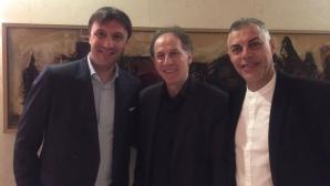 Двама българи посрещнаха Франко Барези в Малта