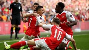 Арсенал - Манчестър Сити 1:1, гледайте тук!