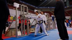 Българските състезатели с осем медала на Евро 2017 по таекуон-до