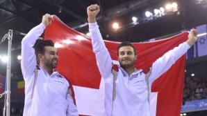 Швейцарци взеха злато и сребро на висилка на ЕП по спортна гимнастика