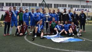 Лев Инс е новият шампион на Лига България по мини футбол