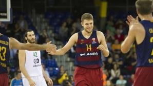 Везенков и Барселона с категорична победа в Испания