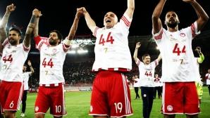 Олимпиакос спечели титлата в Гърция за 44-ти път