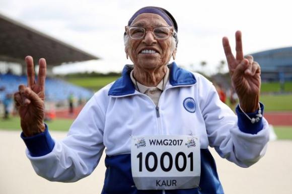 101-годишна индийка спринтира 100 метра за 74 секунди