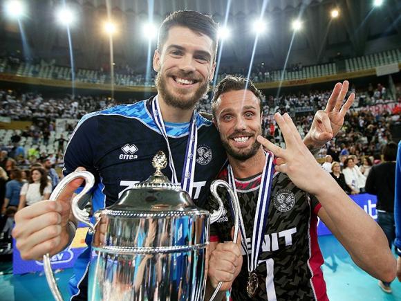 Теди Салпаров и Зенит с трета поредна титла в Шампионската лига