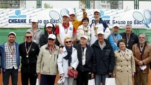 """Журналистите показаха тенис умения на """"Дема"""""""