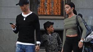 Джорджина със забрана да прави партита в къщата на Роналдо