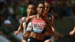 Седем с резултати под 4 мин на 1500 м на Диамантената лига в Юджийн