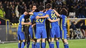 Невероятната серия на Ростов продължава - мачовете без допуснат гол вече са 9 (видео)
