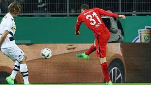 Дузпи определиха първия финалист за Купата на Германия (видео)