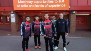 """Националите по таекуон-до ITF разгледаха """"Анфийлд"""" в Ливърпул"""