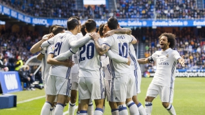 """Резервите на Реал Мадрид изнесоха голов спектакъл на """"Риасор"""" (видео + галерия)"""