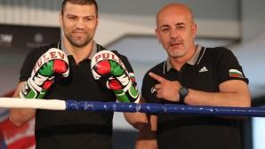 Тервел Пулев за пръв път срещу обратен гард при професионалистите