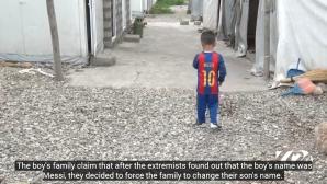 Петгодишен адаш на Меси бил в плен на Ислямска държава