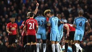 Тактиката на Моуриньо отново сработи и Юнайтед измъкна точка от Сити