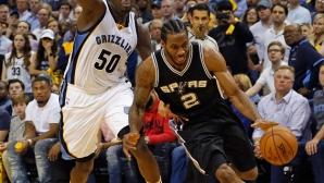 Торонто и Сан Антонио продължават във втория кръг на плейофите в НБА