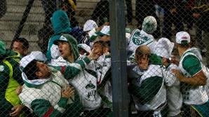 Десетки арестувани и пострадали полицаи след меле на мач за Копа Либертадорес