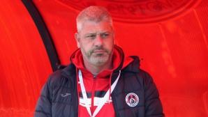 Наставникът на Локо (Сф) с интересно изказване за бъдещето на клуба, сравни Лудогорец и Левски