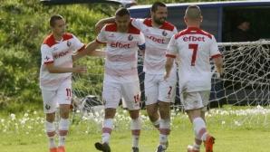 Футболистите на Беласица преизбраха разжалвания капитан Владимир Кабранов