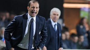 Алегри: Мачът с Аталанта е ценно предупреждение преди Монако