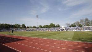 Ремонтът на стадиона в Русе не е приключил, готвят още по-мащабни промени