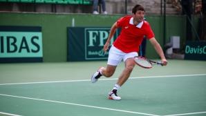 Лазов отстъпи на полуфиналите в Анталия