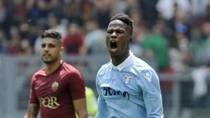 Лацио се превърна в кошмар за Рома в последния сезон на Тоти (видео+галерия)
