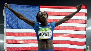 Боуи поведе световната ранглиста на 200 метра
