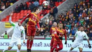 Рикошет в тялото на Мишо Александров донесе загуба на Арсенал (видео)