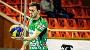 Жулиен Георгиев: Ако не беше волейболът, щях да се занимавам с програмиране (видео)