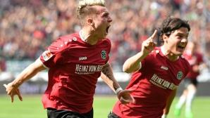 Първа Бундеслига очаква обратно Хановер 96 и Щутгарт