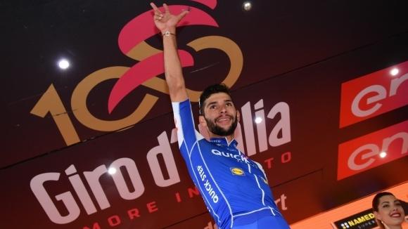 Четвърта етапна победа в Джирото за дебютанта Гавирия