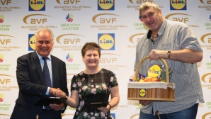 "БФ Волейбол и ""Лидл България"" продължиха договора си за партньорство (видео + галерия)"