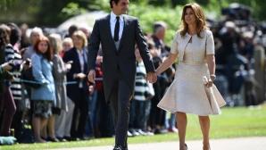 Федерер и Мирка на сватбата на Пипа Мидълтън