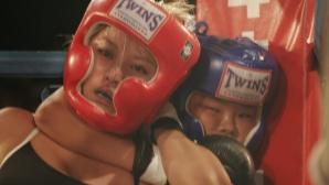12-годишно момиче спечели ММА мач с душене