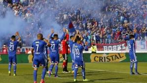 Универсидад стана шампион на Чили за 18-и път