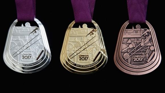 Показаха медалите за Световното в Лондон