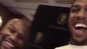Антъни Джошуа се натиска да подгрява Мейудър - Макгрегър