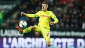 Играч от френския Нант е номер 1 по успешни шпагати в Европа през сезона