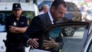 Бурно начало на деня в Испания - арестуваха бивш бос на Барса