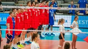 Русия срази Черна гора пред едва 125 зрители на световните квалификации в Талин