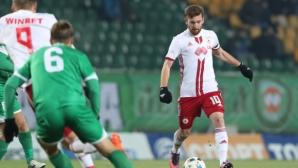 Арсенио: Искам да продължа головата си серия срещу Левски (видео)